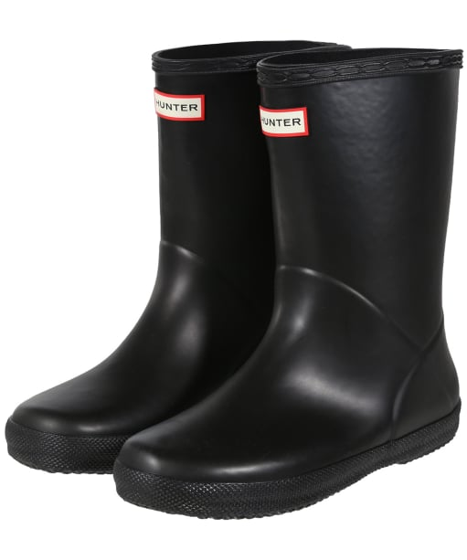 Hunter Wellies – Kids First Classic Wellington Boots - Black