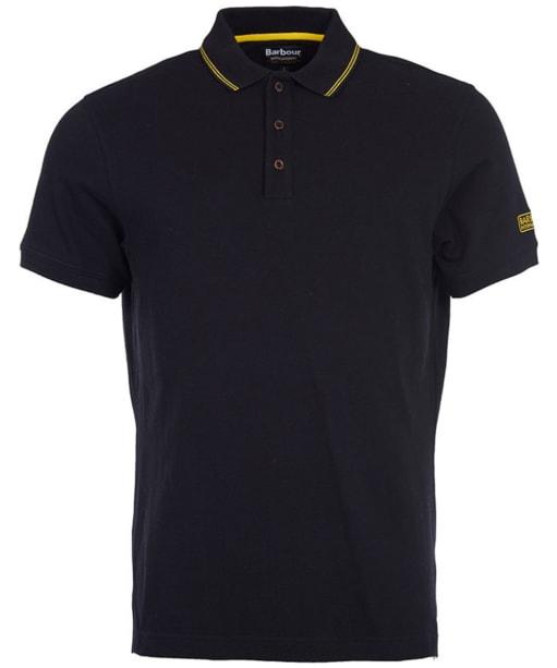 Mens Barbour International Polo Shirt - Black