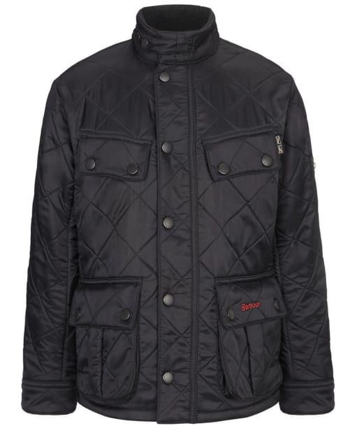 Boy's Barbour Ariel Polarquilt Jacket, 2-9yrs - Black