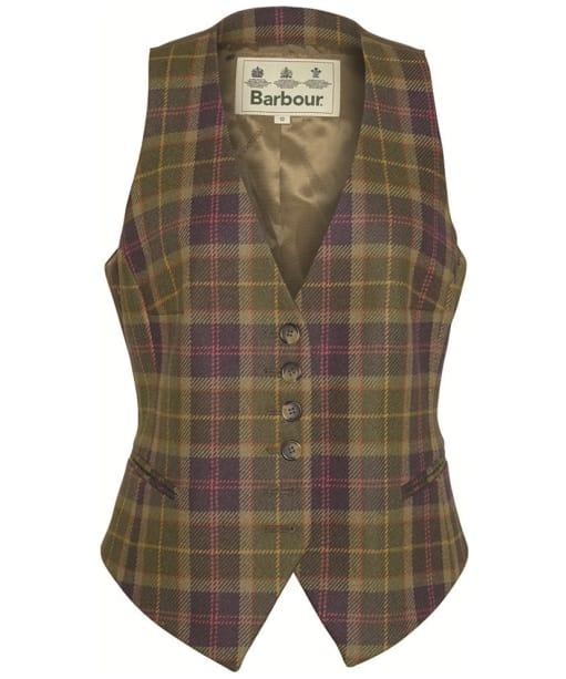 Womens Barbour Coverdale Waistcoat - Sporting Tartan