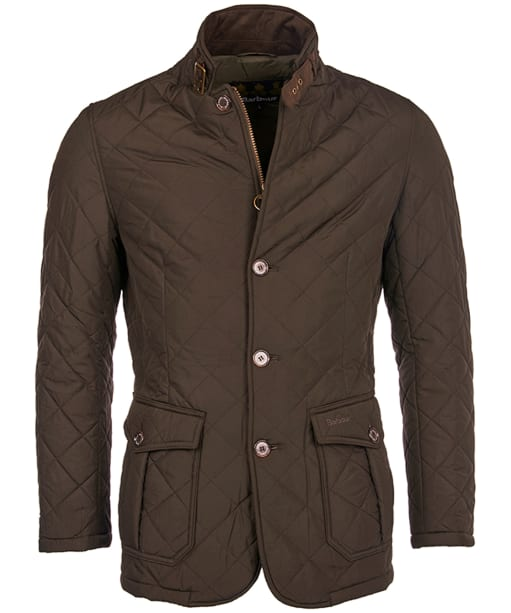 Barbour Quilted Lutz Jacket - Olive