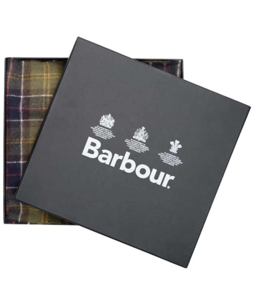 Barbour Scarf and Glove Gift Box - Classic / Olive