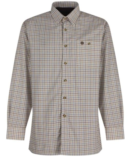 Mens Alan Paine Bury Fleece Lined Shirt - Country Check