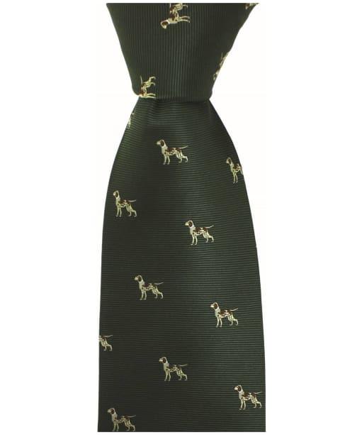 Men's Soprano Hounds Tie - Green