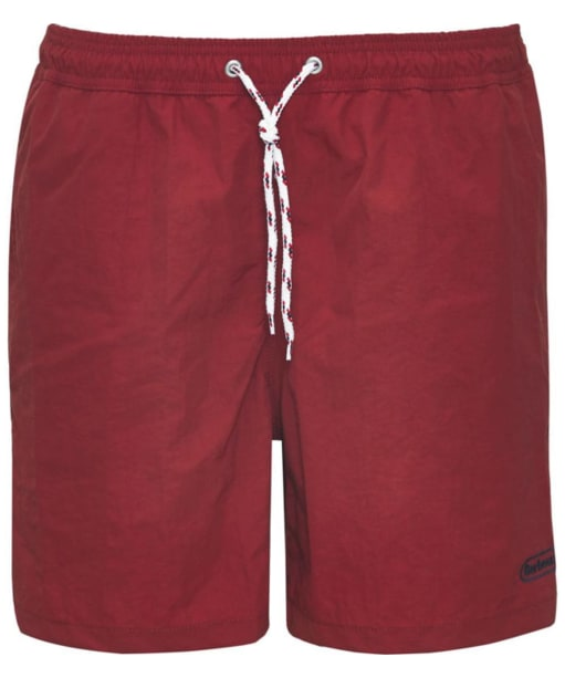Men's Barbour Lomond Shorts - Red
