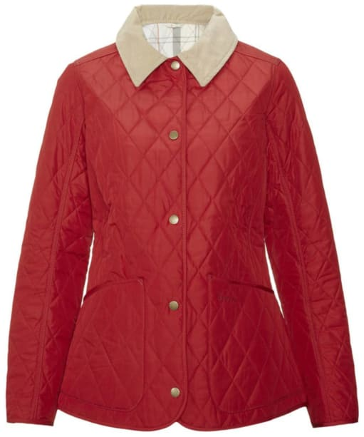 Women's Spring Annandale Quilted Jacket - Chilli Red