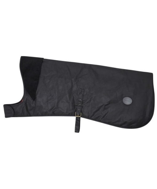 Barbour Waxed Cotton Dog Coat - Black