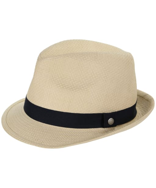 Men's Barbour Emblem Trilby Hat - Natural