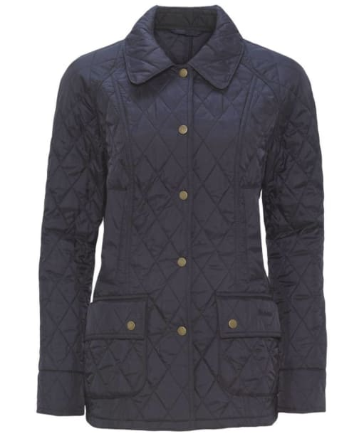Women's Barbour Summer Beadnell Quilted Jacket - Navy