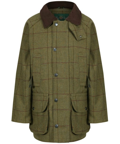 Children's Alan Paine Rutland Coat, 5-16yrs - Lichen