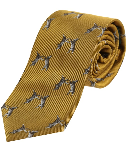 Soprano Country Boxing Hares Tie - Gold