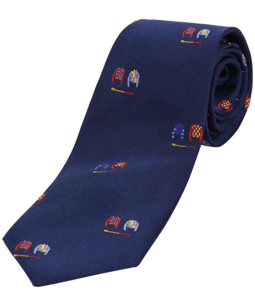 Men's Soprano Jockey Colours Tie - Blue