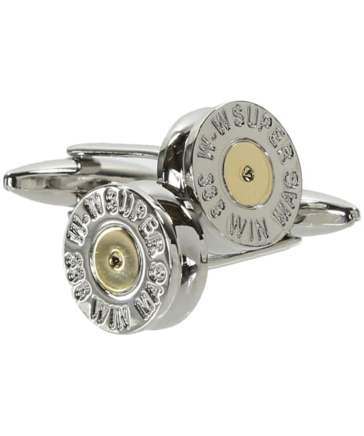 Soprano Cartridge Stamp Cufflinks - Silver