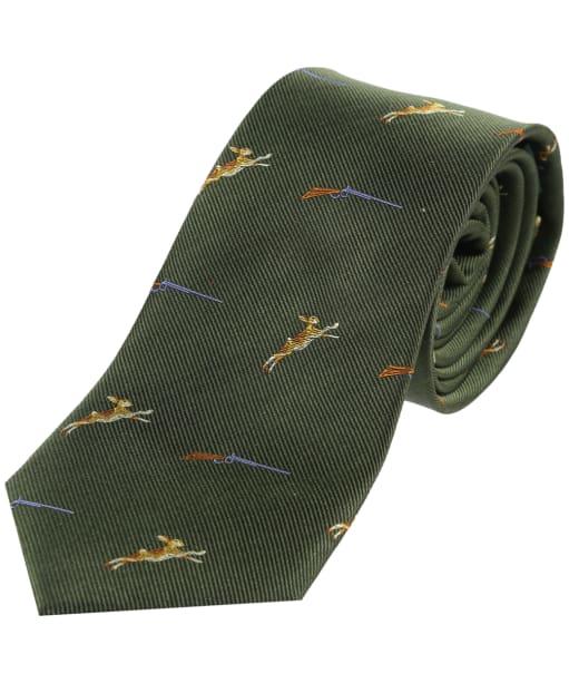 Soprano Hares Shotgun Tie - Green