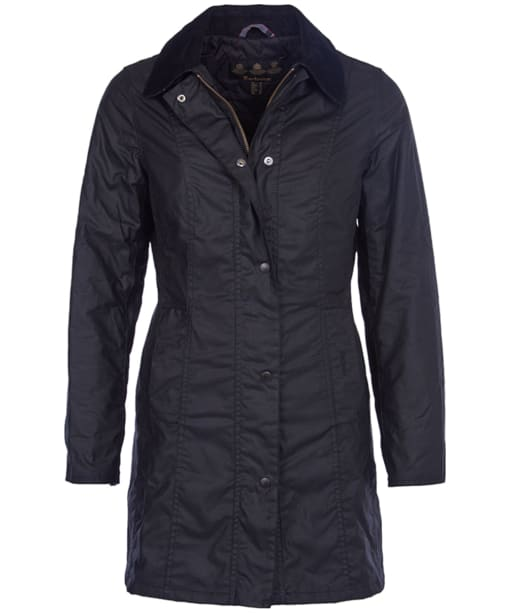Barbour Belsay Wax Jacket - Black