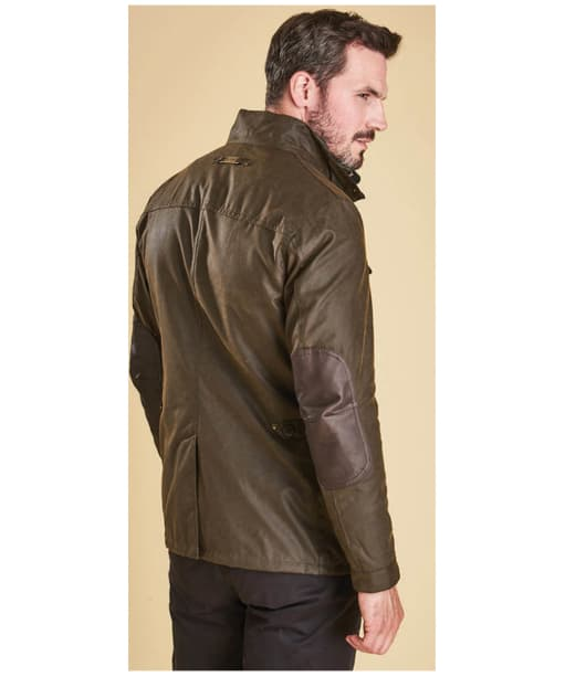Barbour Ogston Waxed Jacket - Olive