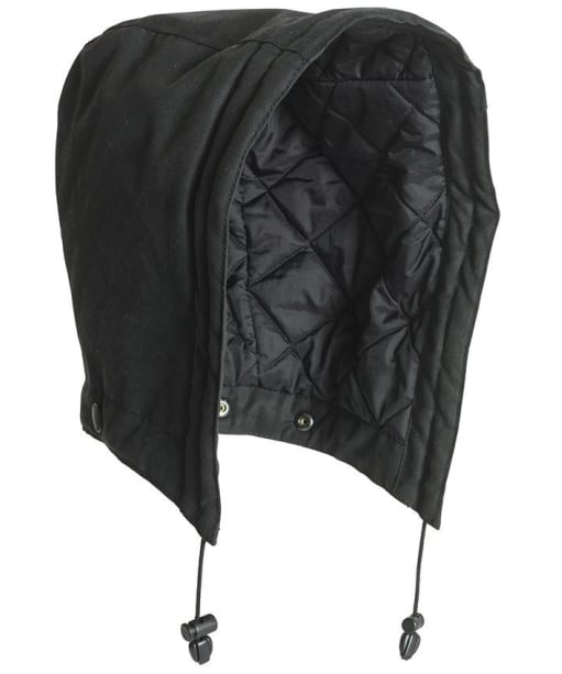 Men's Barbour X Land Rover Quilted Hood - Black
