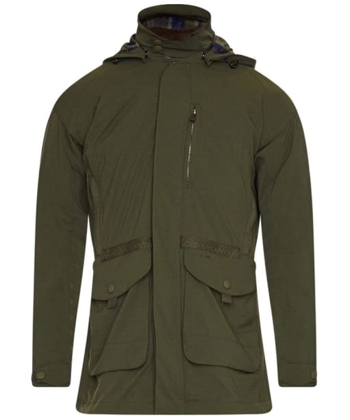 Men's Barbour Bransdale Waterproof Jacket - Forest Green