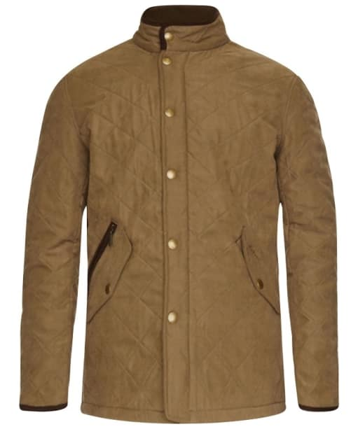 Barbour Bowden Quilted Jacket - Light Olive