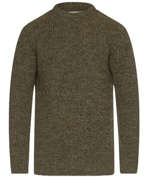 Barbour New Tyne Crew Neck Sweater - Derby Tweed