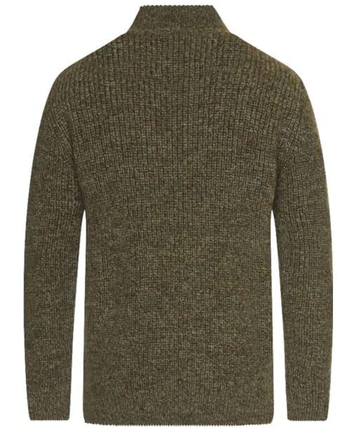 Barbour New Tyne Half Zip Sweater - Derby Tweed
