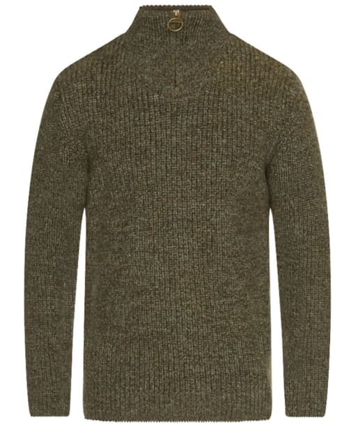 Barbour New Tyne Half Zip Sweater - Derby Tweed