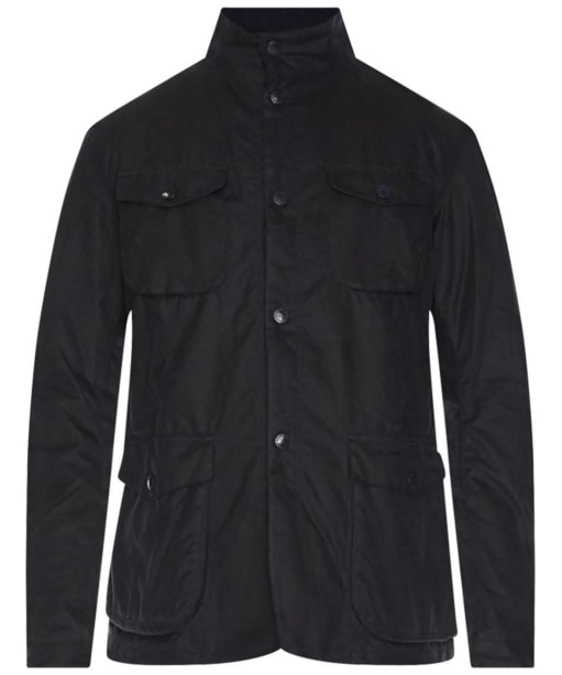 Barbour Ogston Waxed Jacket - Navy