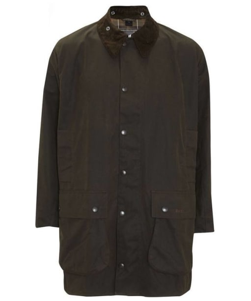 Barbour Classic Northumbria Jacket- Olive | Classic Tartan