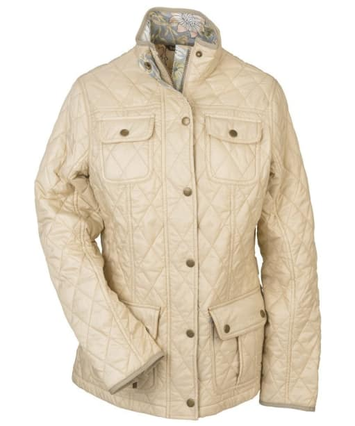 Barbour Alice Quilted Jacket - Pearl