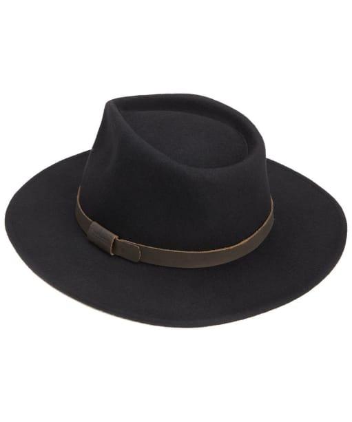 Men's Barbour Crushable Bushman Hat - Black