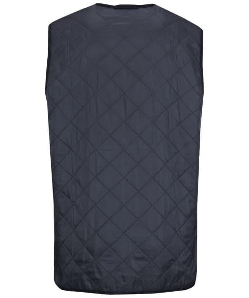 Men's Barbour Polarquilt Waistcoat / Zip-In Liner - Navy