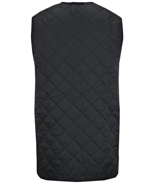 Men's Barbour Quilted Waistcoat / Zip-in Liner - Black