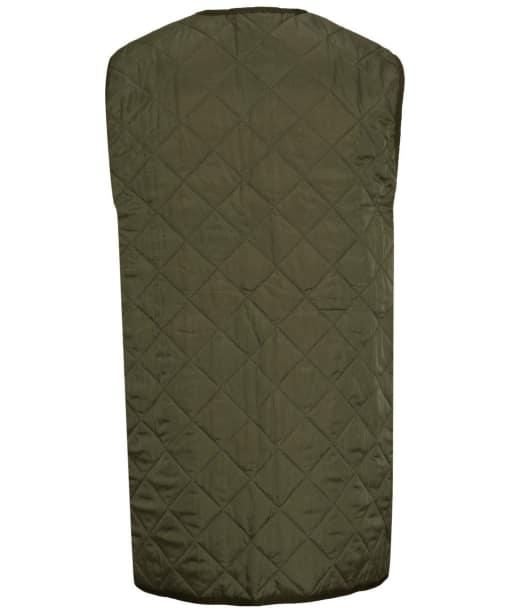 Men's Barbour Classic Quilted Waistcoat / Zip-In Liner - Olive