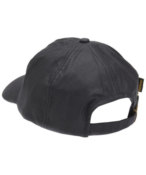 Men's Barbour Waxed Sports Cap - Black