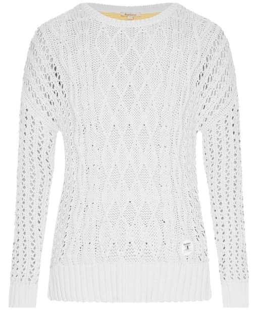 Barbour Braye Sweater - Snow