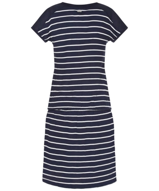 Barbour Clovely Dress - Navy / White