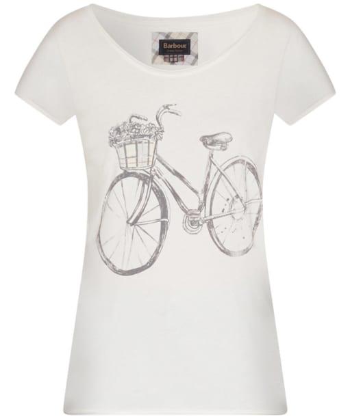 Barbour Kesstock T-Shirt - Snow