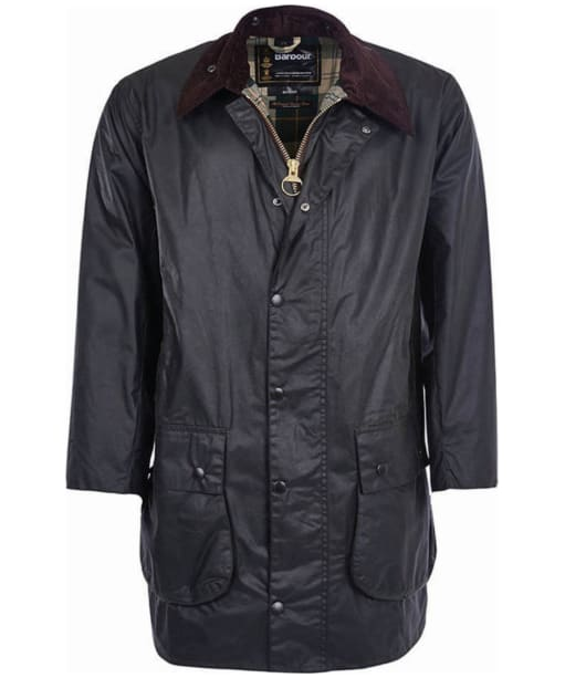 Barbour Border Waxed Jacket - Sage