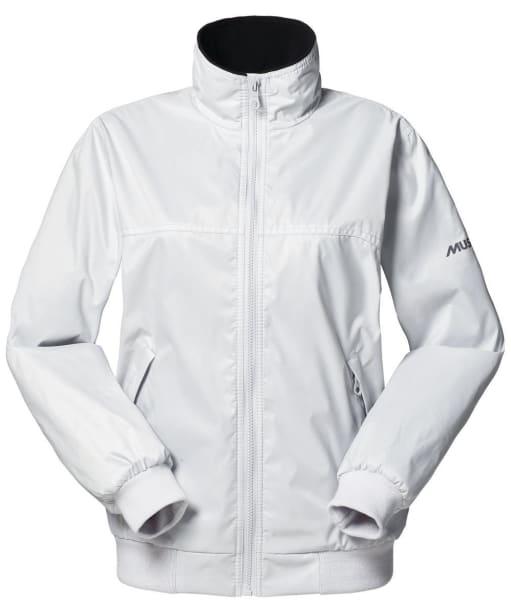 Women's Musto Snug Blouson Jacket - Platinum | Black