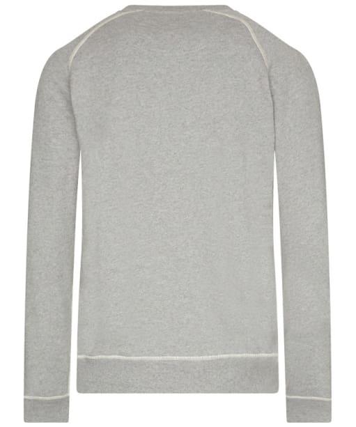 Barbour International Logo Sweater - Grey Marl