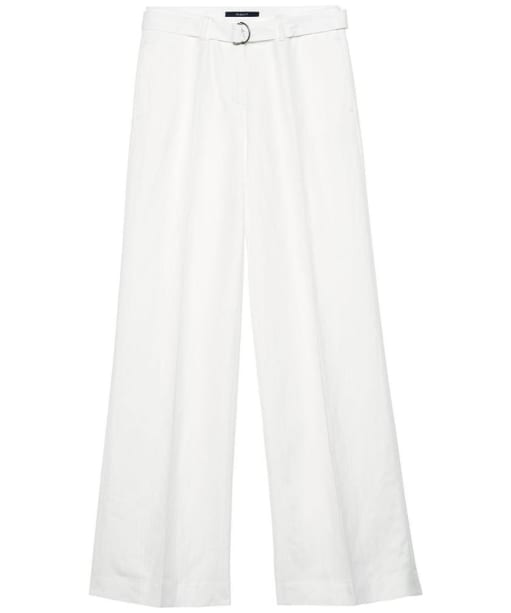 Women's Gant Flared Trousers - Off White