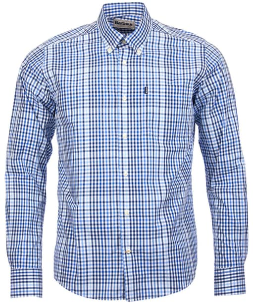 Barbour Terence Shirt Tailored Fit - Blue Check