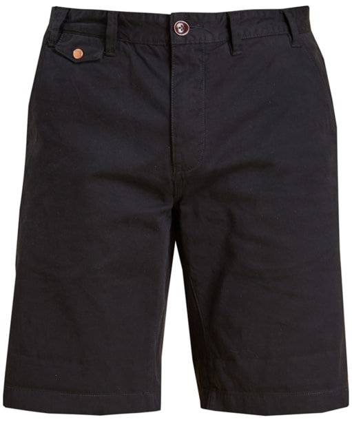 Men's Barbour Neuston Twill Shorts - Navy