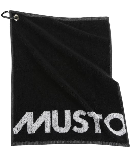 Musto Country Sports and Golf Towel - Black