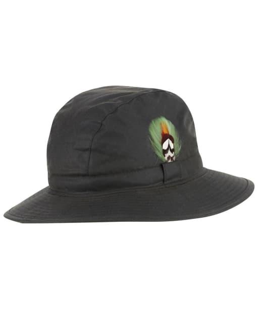 Men's Jack Murphy Wax Trilby Hat - Olive