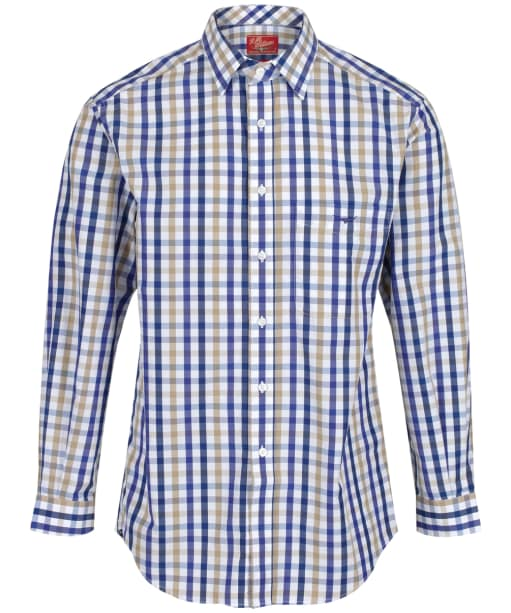 Men's R.M. Williams Braddon Shirt - Blue | Sand | Red