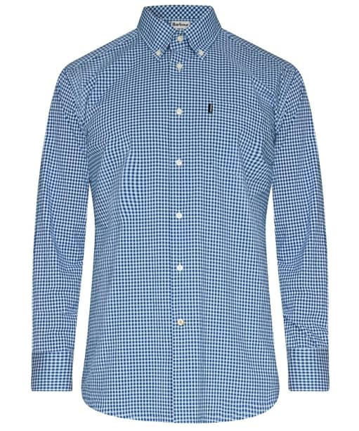 Men's Barbour Leonard Shirt Tailored Fit - Navy