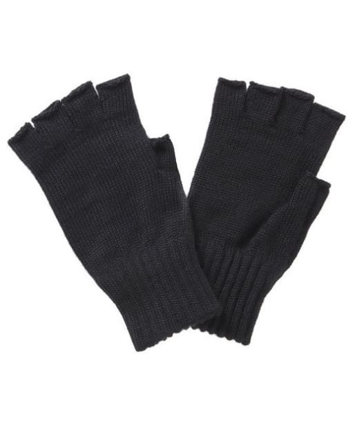 Barbour Fingerless Gloves- Black