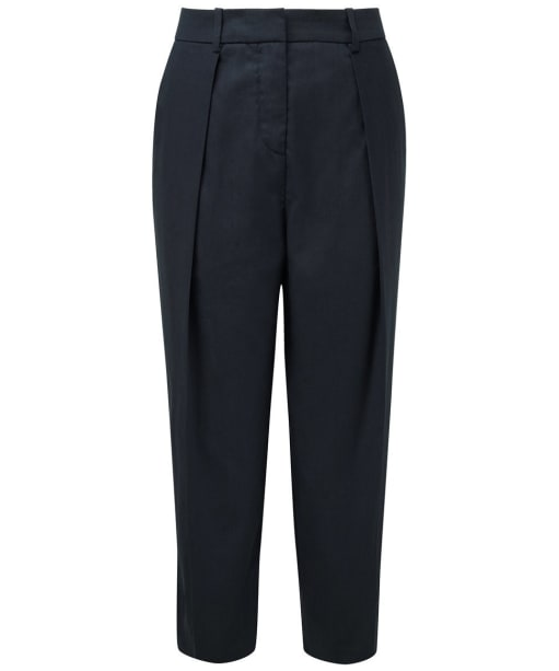 Women's Joseph Saville Slim Trousers - Navy