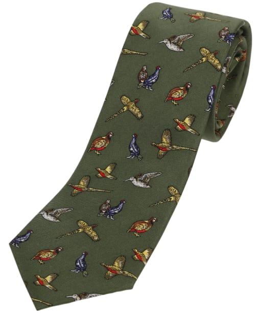 Boys Soprano Birds Tie - Green